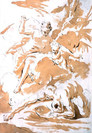 Giambattista Tiepolo (Venise, 1696 - Madrid, 1770), attribution incertaine