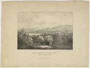 Spengler, lithographe; d'après Alexandre Calame (Vevey, 1810 - Menton, 1864)