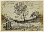 Jean-Baptiste Camille Corot (Paris, 1796 - Ville-d'Avray, 1875); Charles Desavary (Arras, 1837 - Arras, 1885), imprimeur