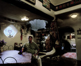 Vignette 5 - Titre : Jim Fowler in his house, Libre, Colorado [srie Herfano's Faces