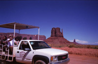 Vignette 3 - Titre : Monument Valley Navajo Tribal Park [srie 