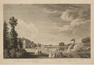 William Elliot (1717 - 1766), graveur; William Woollett (Maidstone, 1735 - Londres, 1785), dessinateur; Robert Sayer (1725 - 1794), éditeur; Carington Bowles (1724 - 1793), éditeur; John Bowles (1701 - 1779), éditeur