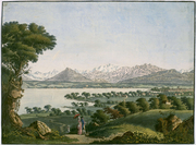 Carl Ludwig Hackert (Prenzlau, 1740 - Morges, 1796), attribuable à