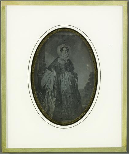 Madame Adélaïde, soeur de Louis-Phillipe, reproduction d'un tableau