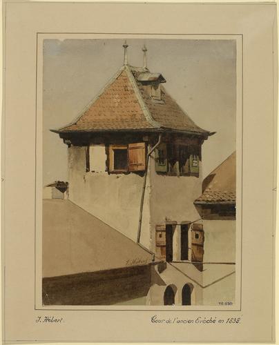 Genève, la tour de l'ancien Evêché