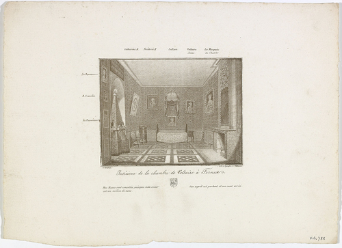 Ferney-Voltaire, chambre de Voltaire