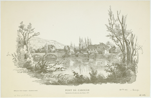 Carouge, pont (27 octobre 1837)