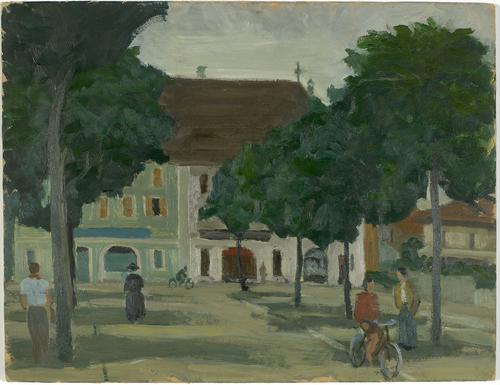 Carouge, l'ancienne rue Alexandre-Gavard