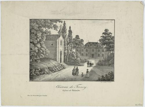 Ferney-Voltaire, château