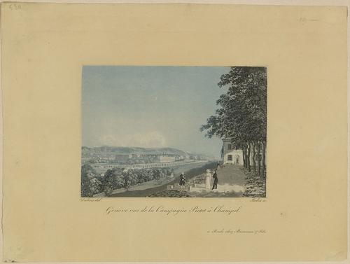 Genève, Champel: campagne Pictet