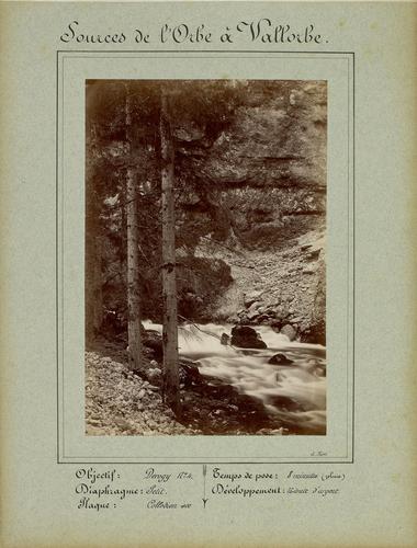 Canton de Vaud, les sources de l'Orbe à Vallorbe