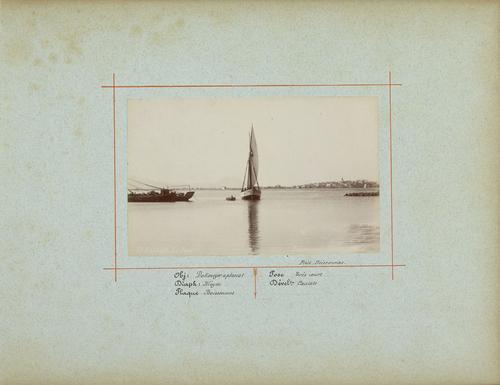 France, Saint-Raphaël: le port (1885)