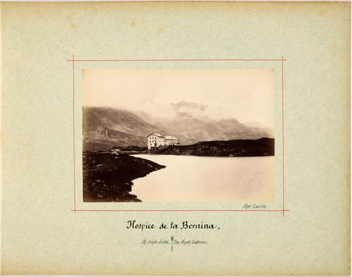 Canton des Grisons, hospice de la Bernina