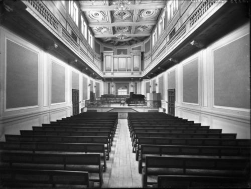 Genève, conservatoire de musique: grande salle