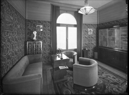 Genève, avenue de la Paix: hôtel Carlton, salon