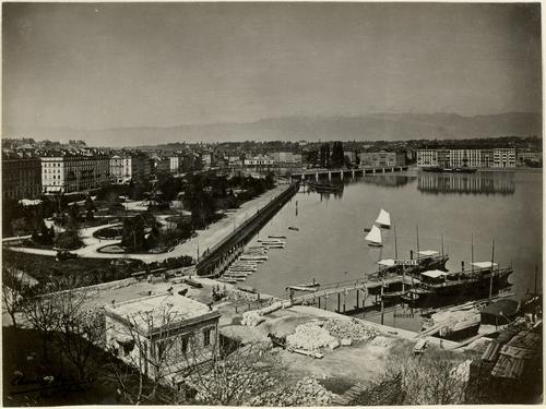 Genève, promenade du Lac