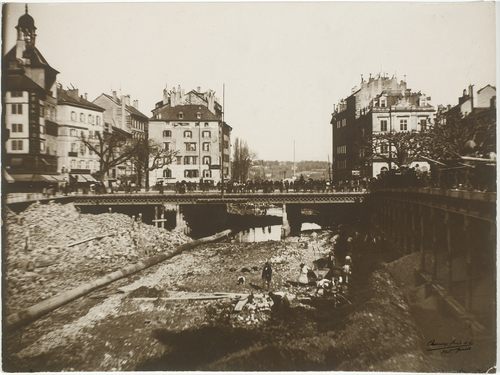 Rhône, travaux