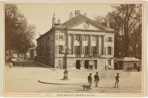 Genève, place de Neuve: théâtre des Bastions