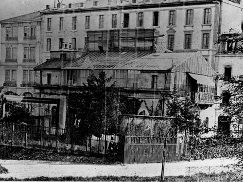 Genève, Bastions: l'atelier photographique de Jean Lacroix