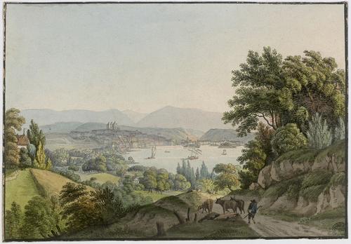 Vue de Genève prise de Ruth