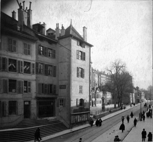 Genève, la tour Thellusson
