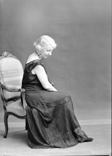 Portrait d'Ellen Reibold de la Tour