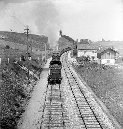 Ligne Lyon-Genève (km 155,7), entre Russin et Satigny