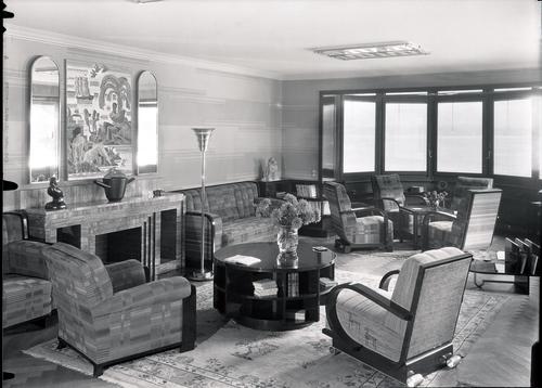 Vésenaz, maison Wieland: Grand-Salon