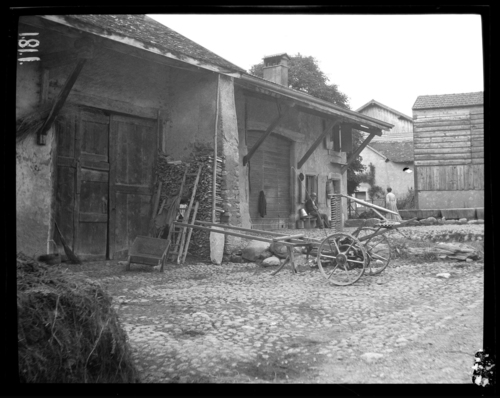 Meyrin, Mategnin: maison rurale