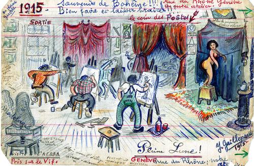 Pleine Lune ! Souvenirs de Bohème. 1915