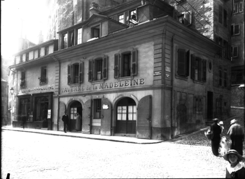 Genève, rue de la Madeleine: taverne de la Madeleine