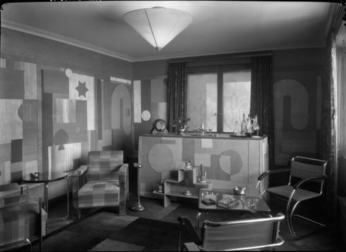 Vésenaz, maison Wieland: intérieur