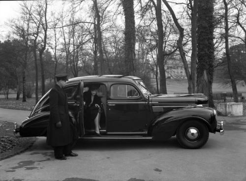 Genève, parc la Grange: automobile Chrysler royal