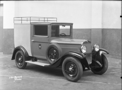 Automobile de la poste