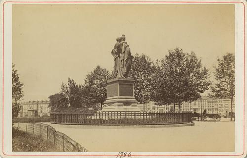 Genève, quai Général-Guisan: monument National