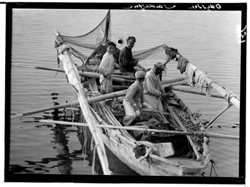 Sardaigne, golfe d'Aranchi: pêcheurs