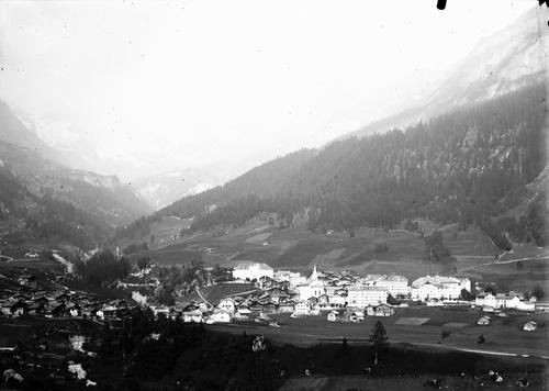 Loèche, vue générale du village