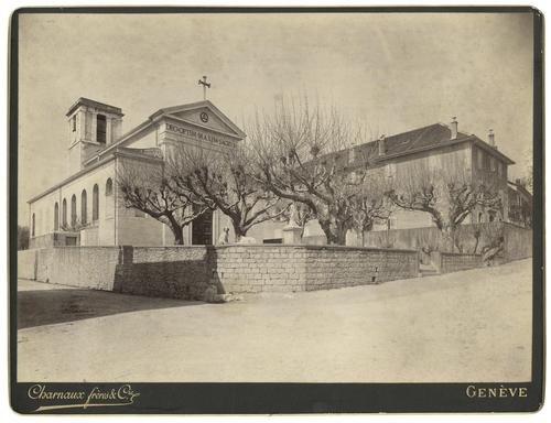 Ain, Ferney-Voltaire: église paroissiale Notre-Dame et Saint-André