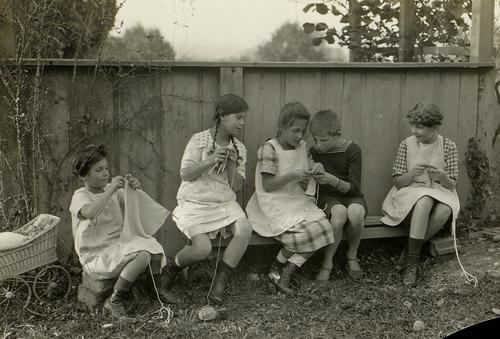 La leçon de tricotage