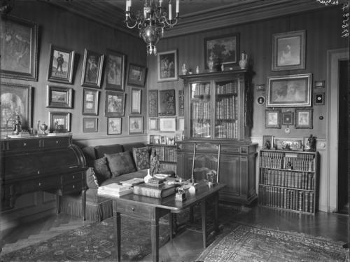 Genève, route de Malagnou: maison du baron Carl-Frédéric de Geer, fumoir