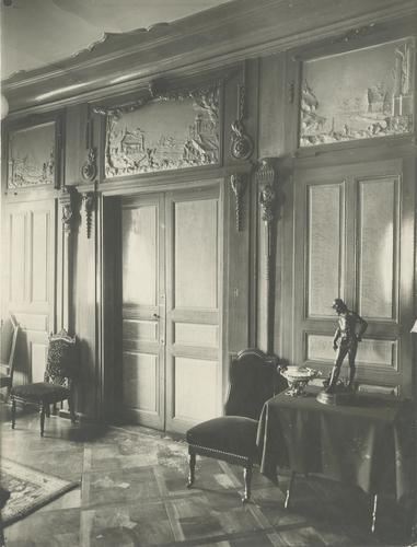 Genève, rue Beauregard numéro 8: maison Thellusson (vue intérieure)