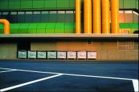 Vignette 3 - Titre : Centre polyvalent de Sursee au petit matin, côté services [série
