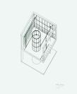 Vignette 4 - Titre : Bibliothèque de la résidence-atelier du peintre Jean Saladin von Berchem