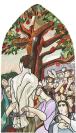 Vignette 1 - Titre : Le prisonnier qu'on libère, La table, L'arbre [deuxième cycle du Temple de la Madeleine]