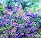 Vignette 2 - Titre : Le lilas perse ou Printemps Carougeois