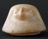Canope, élément, Vase au nom de Hor-Ouahibrê (couvercle à tête de faucon)