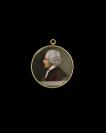 Petit portrait sur émail, Portrait de Jean-Jacques Rousseau<br />Jacques Thouron (Genève, 06/03/1740 — Paris, 13/03/1789), peintre sur émail