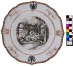 Daphnis et Chloë: le banquet de noce : Assiette