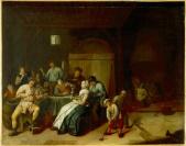 David III Rijckaert (Anvers, 1612 — Anvers, 1661), ancienne attribution, Jan Miense Molenaer (Haarlem, vers 1610 — Haarlem, 1668), auteur, attribué à
