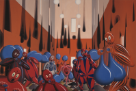 Vignette 2 - Titre : Zornige Sackträger